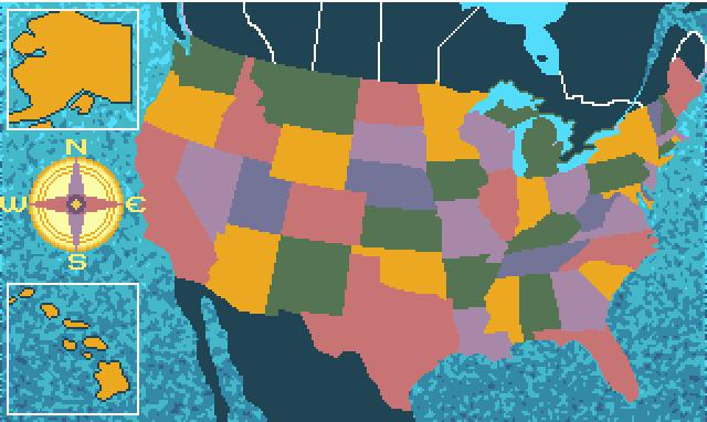 Puzzle Solutions For Are We There Yet - Us map georgia puzzle