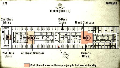 cabin plan titanic